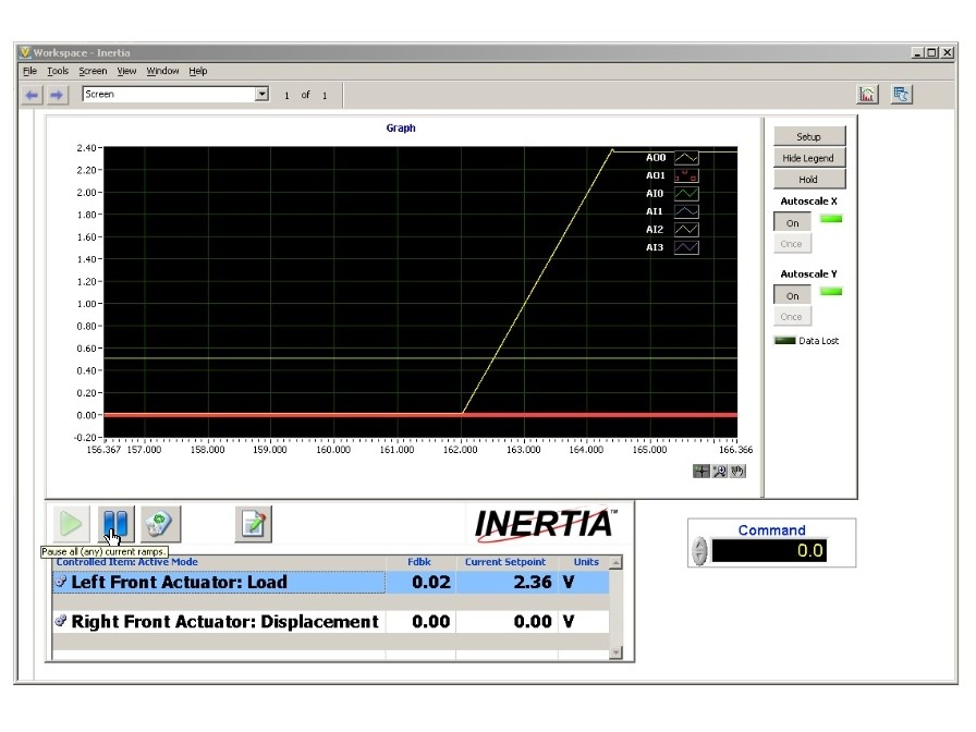 INERTIA DAQ and Control Software