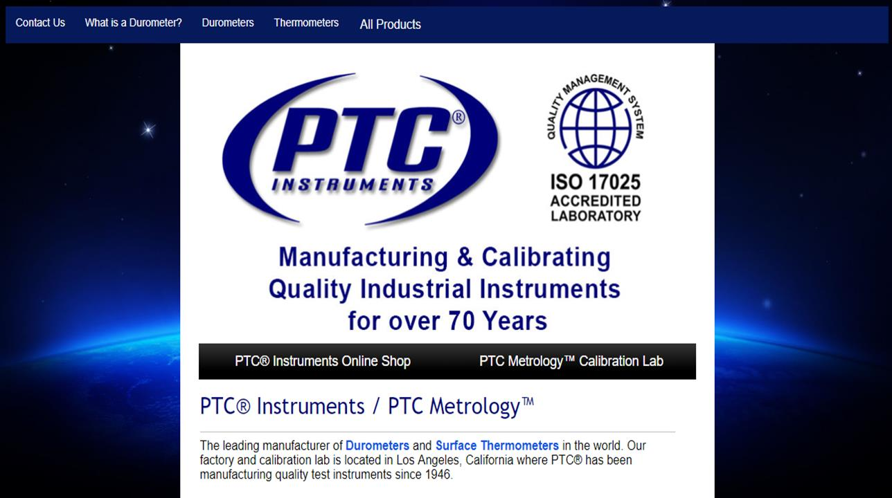 PTC Instruments | Data Acquisition Systems