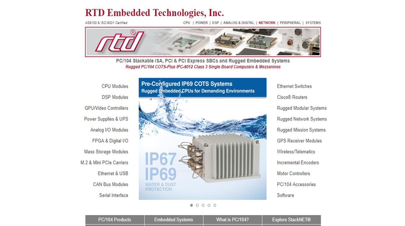 RTD Embedded Technologies, Inc  | Data Acquisition Systems